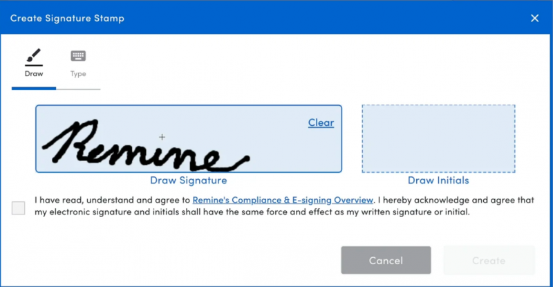 Manage and Sign Documents in Remine Pro