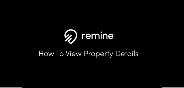 View Property Details