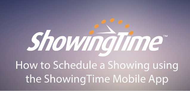 Schedule With The Mobile App